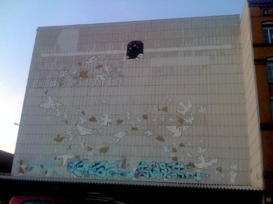 Ima Loft Apartment: Muurschildering bij Ïma Loft Apartments