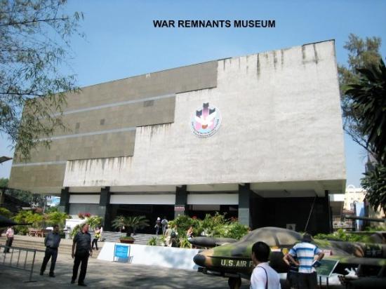 พิพิธภัณฑ์สงคราม: War Remnants Museum