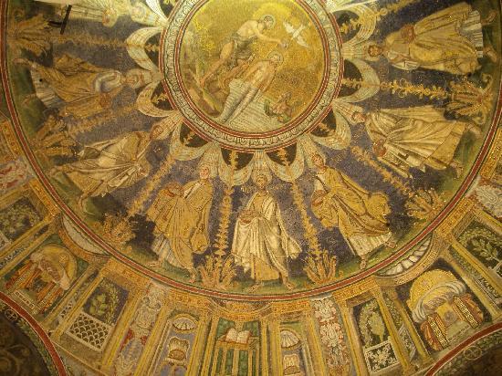 Mausoleo di Galla Placidia: ガッラ・プラチーディアの廟の天井画