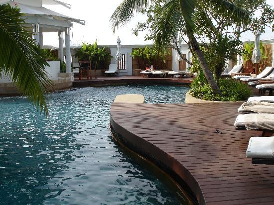 Rooftop Pool Picture Of Intercontinental Bangkok Bangkok Tripadvisor