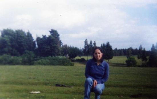 Temuco, Chile: 1999, Sector Lumahue, Camino a Barros Arana, pequeño pueblo cerca de Nueva Imperial,IX Región Ch