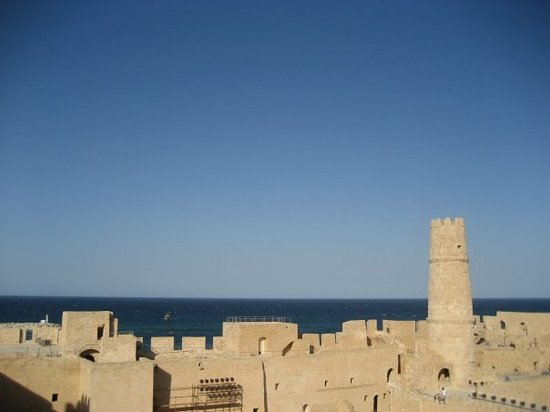 Монастир, Тунис: The Monastir Fort  This place was amazing!  We came back twice because there was so much to se