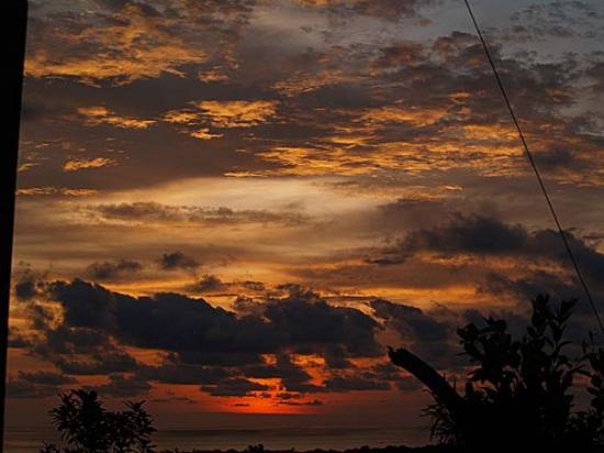 Sikuai Island: sunset