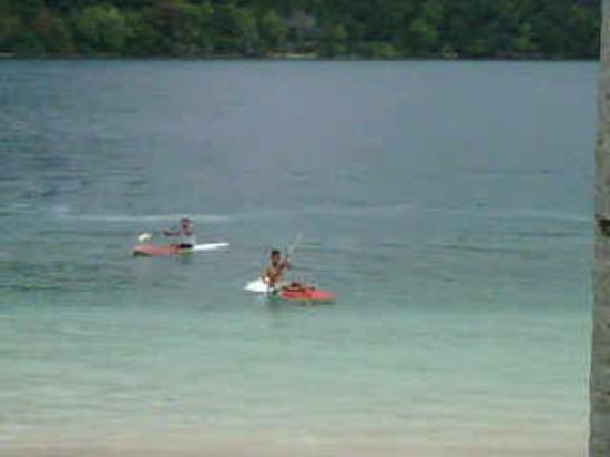 Sikuai Island: Kayaking