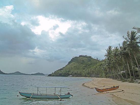 Sikuai Island: sisi depan pulau sikuai