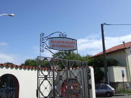 ビアリッツ チョコレート博物館