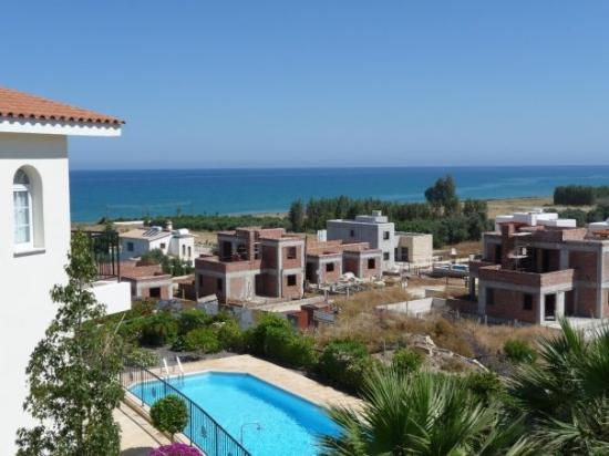 Argaka, Cyprus: View of the Mediterranean from the bedroom