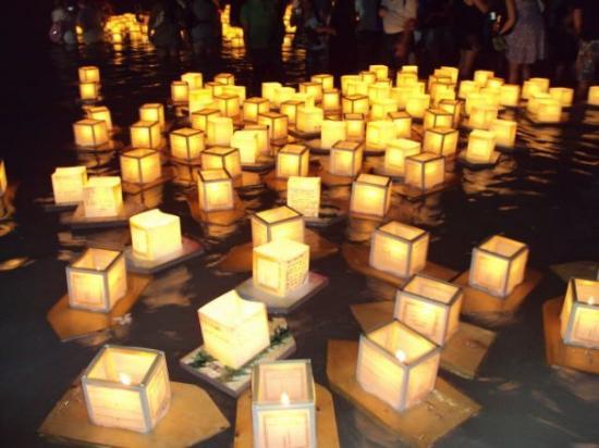 Ala Moana Beach Park: 10th annual Hawaii Lantern Festival at Ala Moana Beach.
