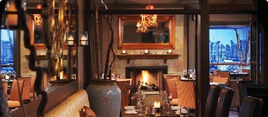 baleenkitchen warm and inviting around the fireplaces - Baleen Kitchen