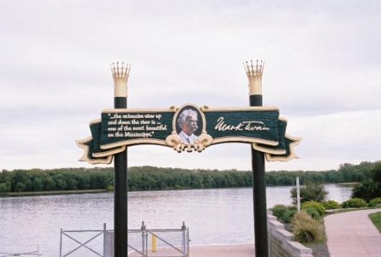 ฮันนิบาล, มิสซูรี่: Gateway from Hannibal to the Mississippi.