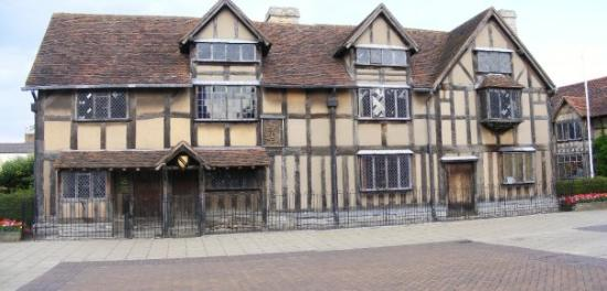 Shakespeare's Birthplace: same