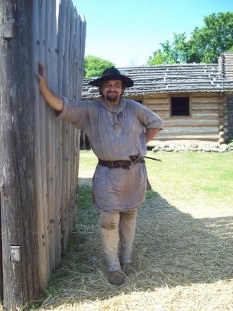 Historic Mansker's Station Frontier Life Center: Our guide...
