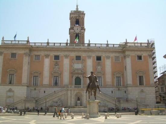 Kapitolsplatz (Piazza del Campidoglio)