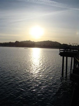 Santa Barbara, Californië: stearns wharf