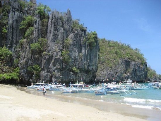 Puerto Princesa, Philippines : Lovely shore