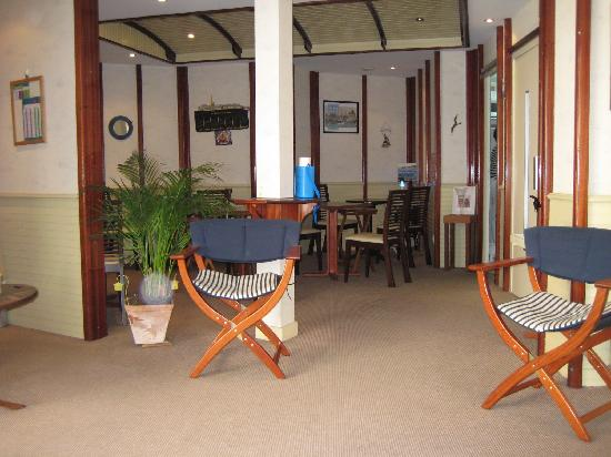 Hotel San Pedro : Hotel reception
