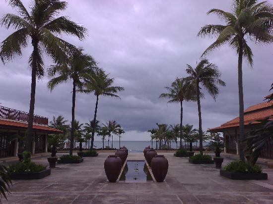 ฟูรามา รีสอร์ท ดานัง: Courtyard