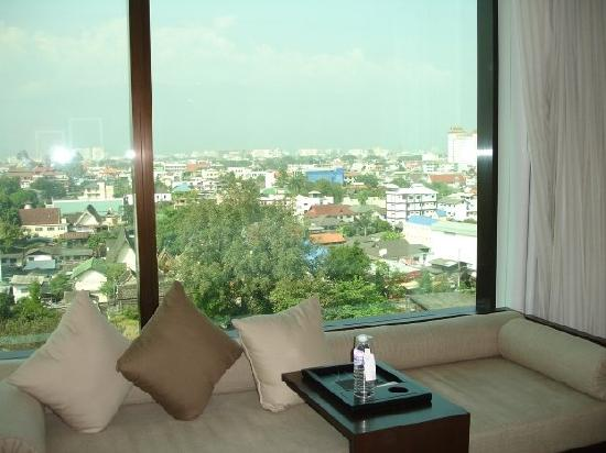 โรงแรมเลอ เมอริเดียน เชียงใหม่: view from my room