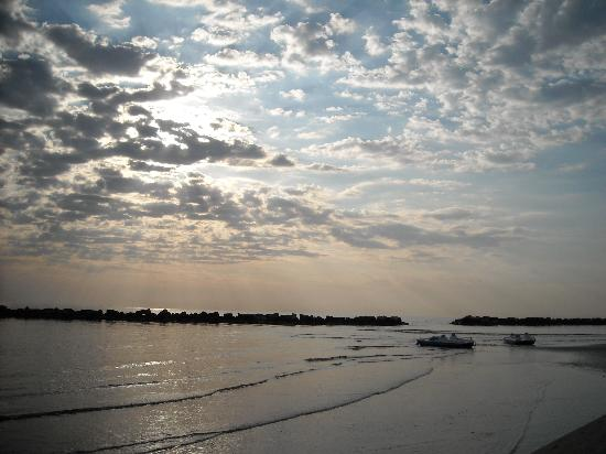 Lido di Classe, Italia: mi è dolce naufragar in questo mare