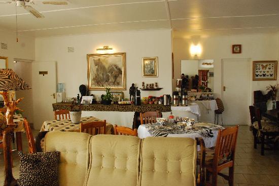 Bhangazi Lodge: zona colazione