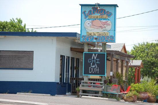 La Playa Mexican Grille Restaurant Port Aransas Tx