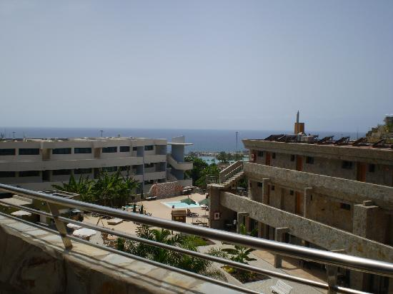 Hotel Terraza Amadores: view from balcony