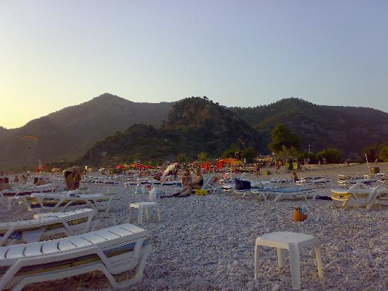 Dorian Hotel: The beach