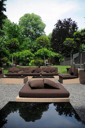 Bulgari Hotel Milano : the garden