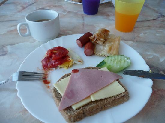 Azurro Hotel: Breakfast in hotel Azurro