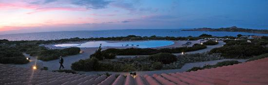 Hotel Relax Torreruja Thalasso & Spa: view from rooftop restaurant