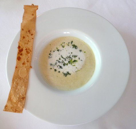 Philippe Restaurant : Yummy potato and leek soup