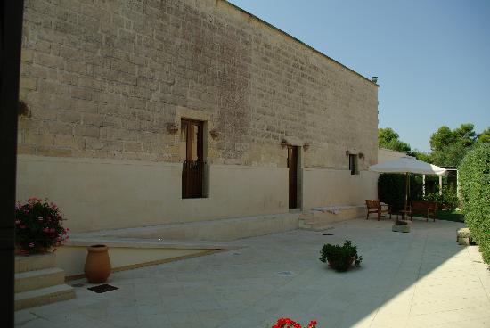 Hotel Masseria Bandino: l'edificio storico della masseria