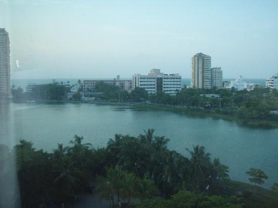 Hilton Cartagena: View over Laguito from Cartagena Hilton