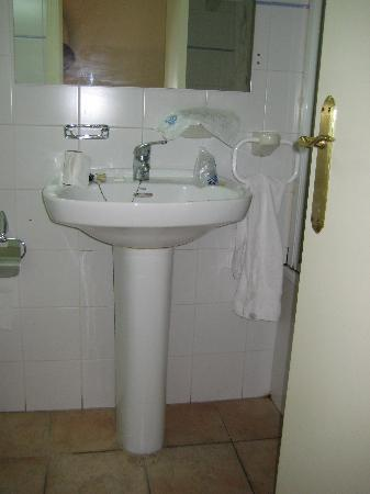 Hotel Villa de Utrillas: baño