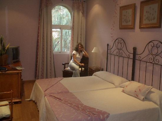 Balneario San Andres : La habitacion, de lo mas romantico que he visto jamas