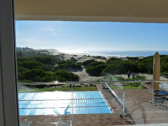 Moya Manzi Beach House: Vue depuis notre chambre (en hiver)