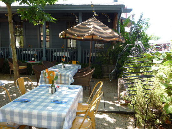 Blue Wing Saloon & Cafe: View from the garden