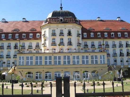 Sofitel Grand Sopot: Rear facade