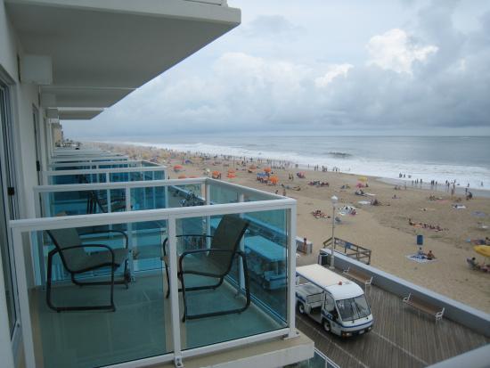 Courtyard Ocean City Oceanfront : Balconies