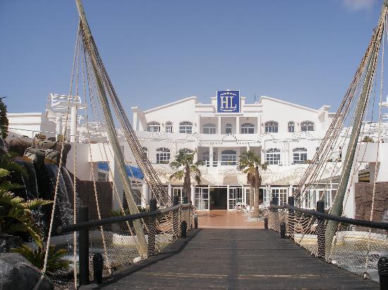 HL Paradise Island: El Hotel y terraza