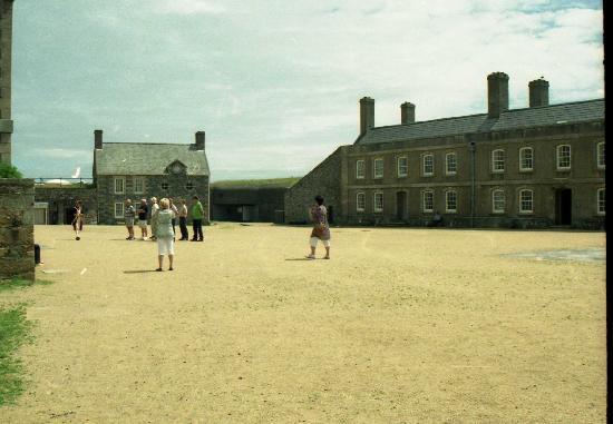 Elizabeth Castle: Parade ground