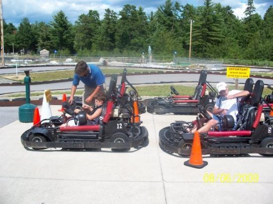 Tamworth Go Karting >> Go-Karts in Tamworth, NH on the way home - no mini golf this year. Thank God. - Picture of North ...