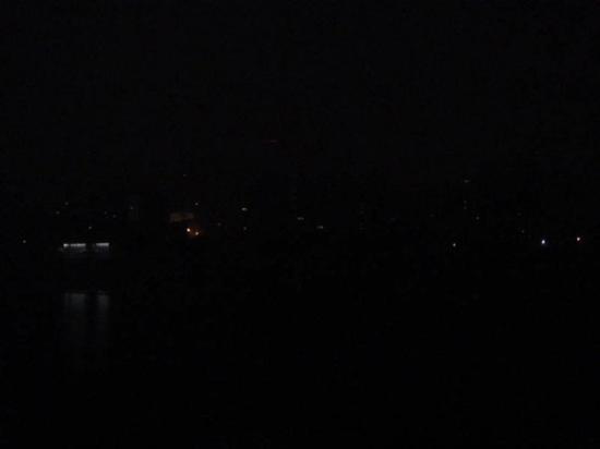 Pyongyang skyline. And I'm not joking.