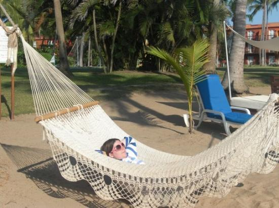 Club Med Ixtapa Pacific: That was a low hamock.