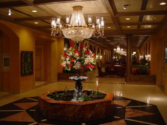 New Orleans, LA: This is the French Quarter Hotel complete with Marble Foyer and Wraught Iron staircase.