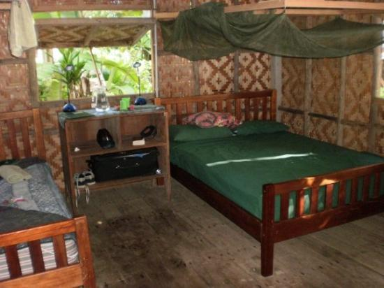 Kavieng, Papua New Guinea: Inside the bungalow