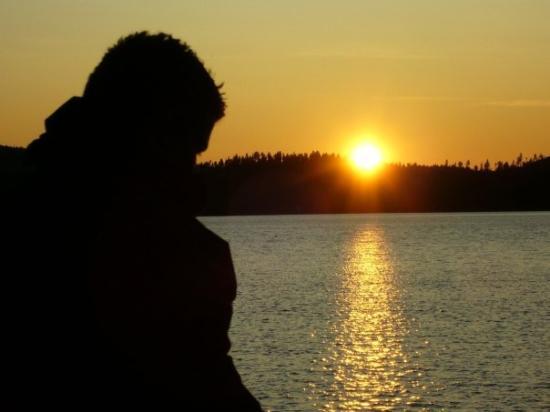 23:20 / Inari. Finsko, 07/2009