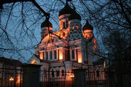 มหาวิหารอเล็กซานเดอร์เนฟสกี: Nevskio soboras, Tompea (aukštutinis senamiestis)
