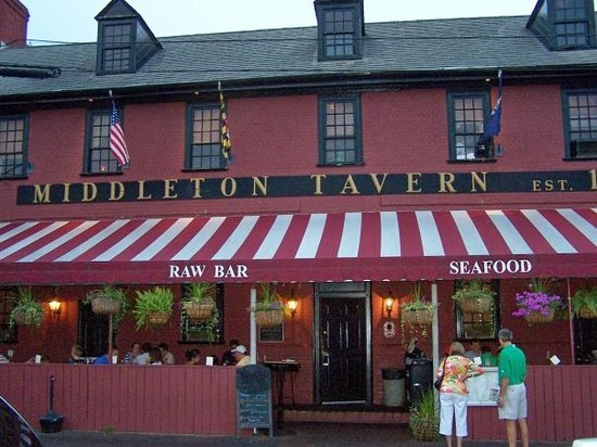 Middleton Tavern, where George Washington caused a ruckus