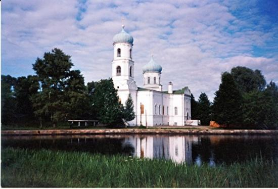 Russian Church near Tver, Russia
